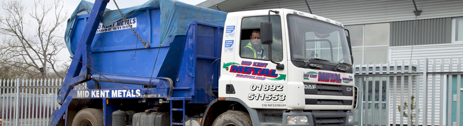 Skip hire transportation