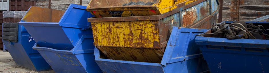 Different sizes of skips to hire